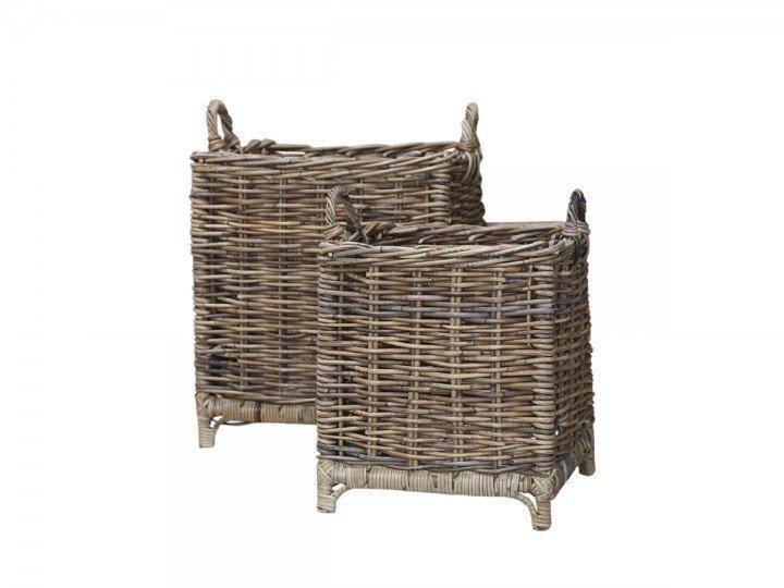 Chic Antique Provence Körbe im 2er Set