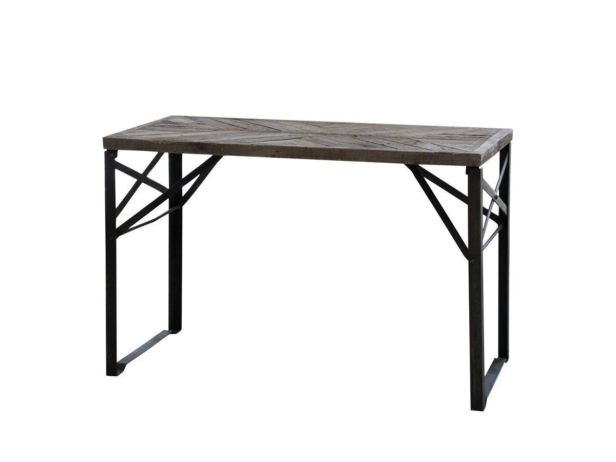 Chic Antique Schreibtisch mit Holzplatte