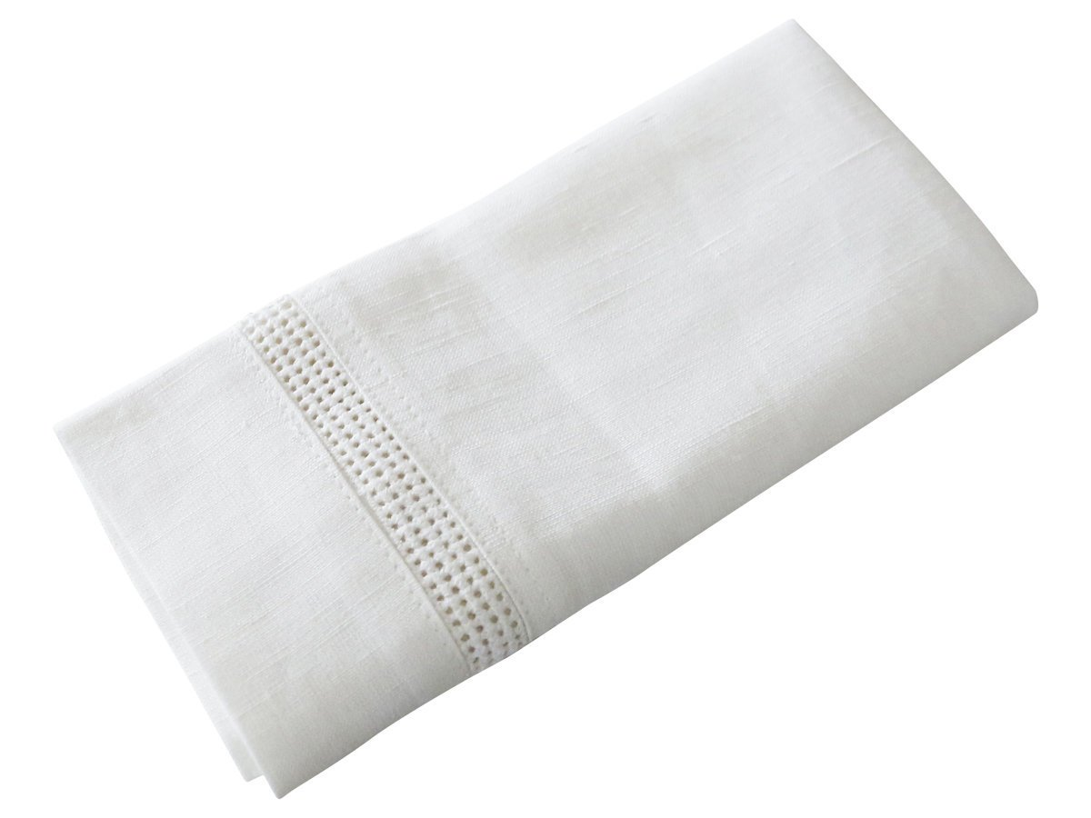 Chic Antique Serviette mit Lochmuster