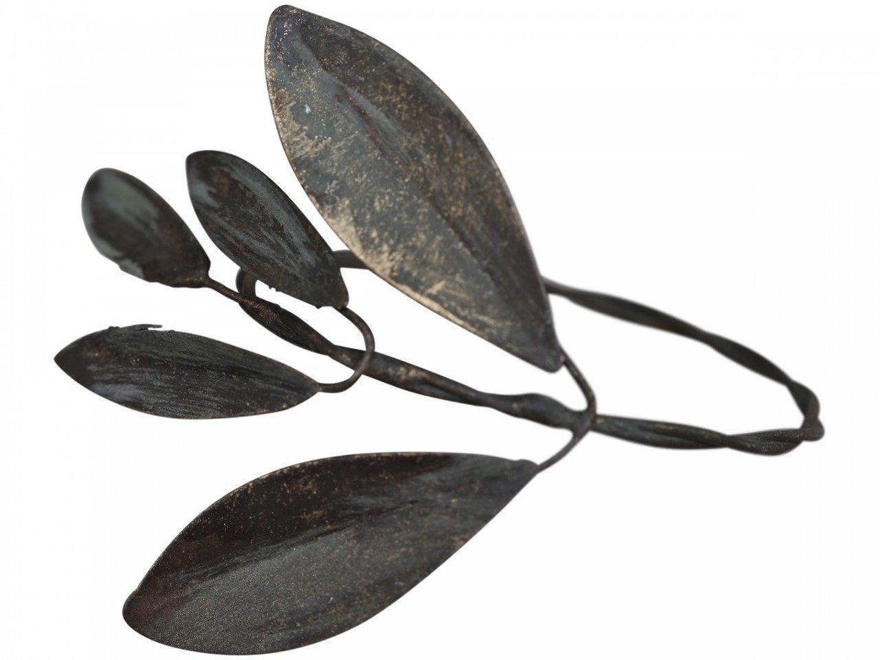 Chic Antique Serviettenring mit Blätterverzierung