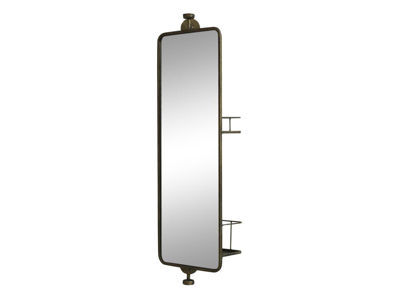 Chic Antique Spiegel mit 2 Regalen auf der Rückseite