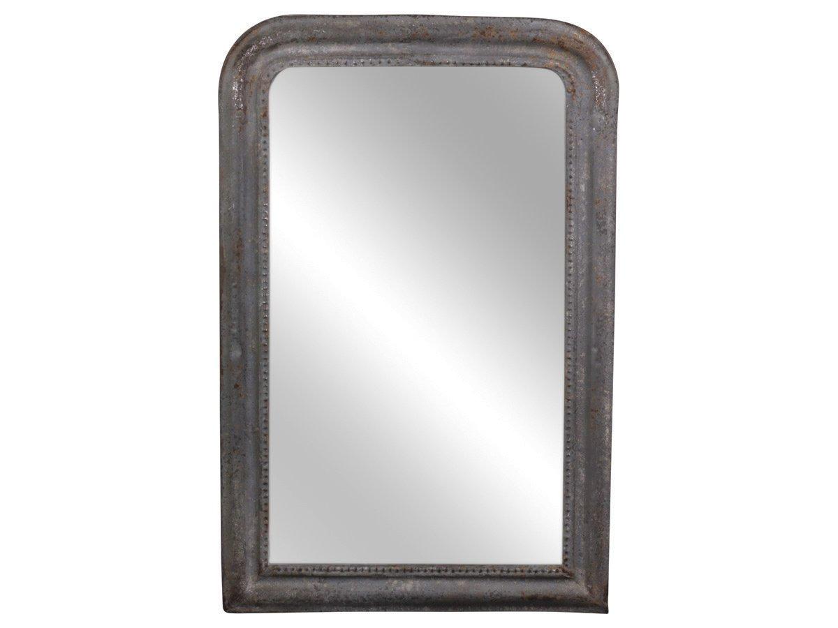 Chic Antique Spiegel mit antiker Silberkante