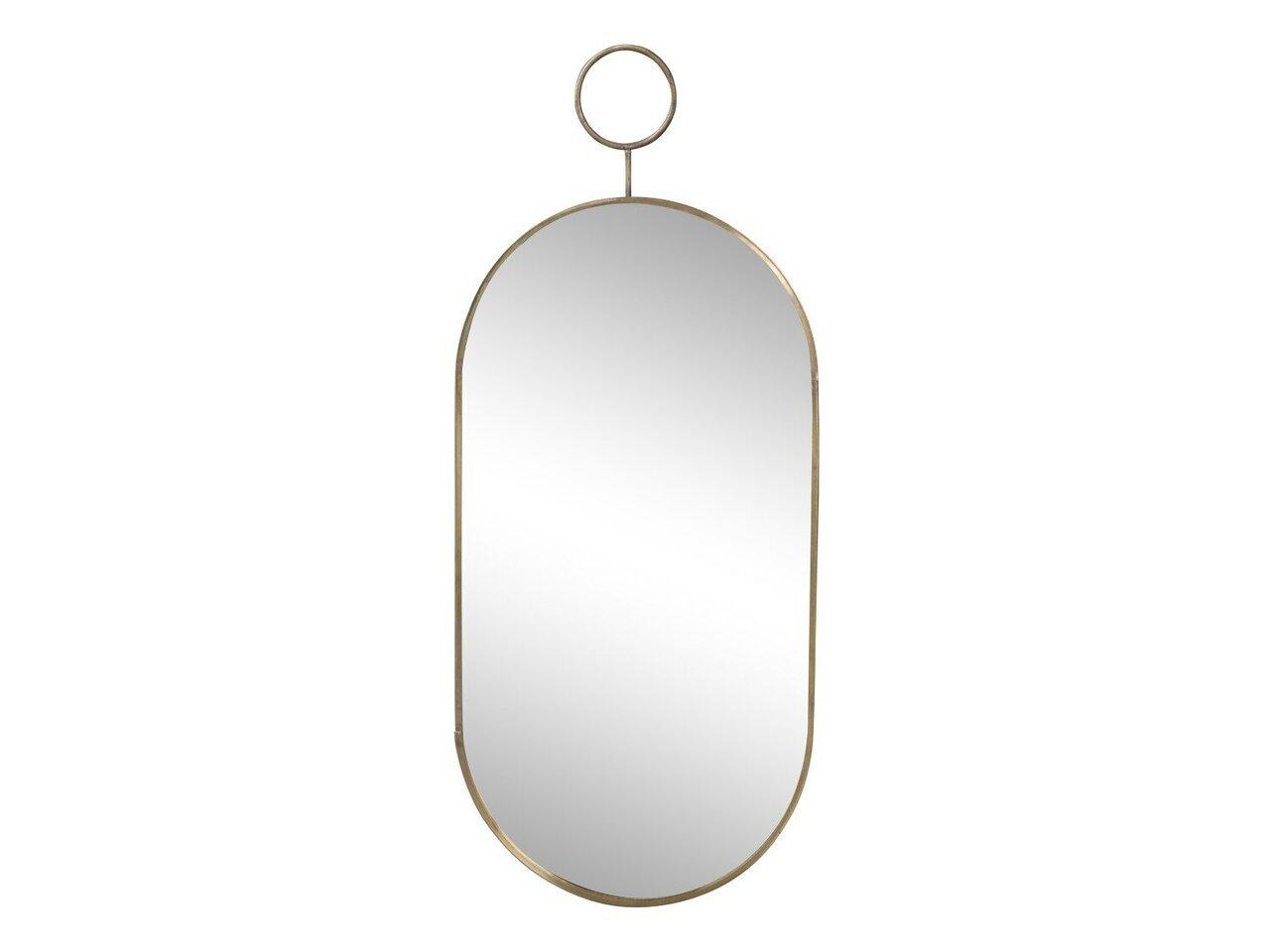 Chic Antique Spiegel mit Messingrahmen