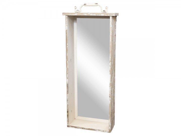 Chic Antique Spiegel Regalbrett