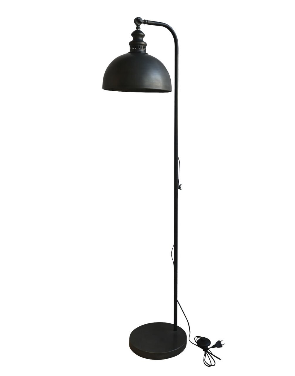 Chic Antique Stehlampe Factory Style