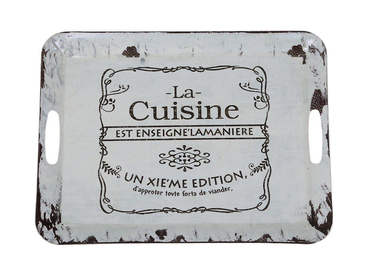 Chic Antique Tablett La Cuisine
