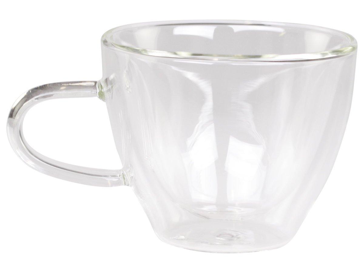 Chic Antique Teebecher mit doppelt Glas