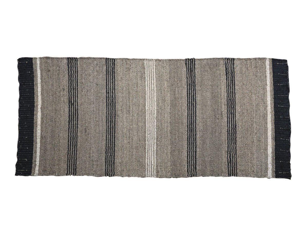 Chic Antique Teppich aus Seegras mit Streifen