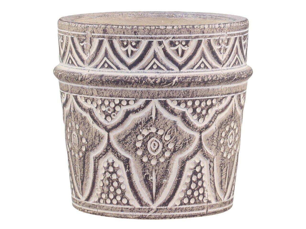 Chic Antique Évron Blumentopf mit Muster