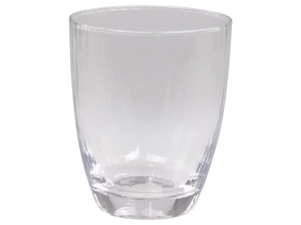 Chic Antique Wasserglas mit Rillen Massy