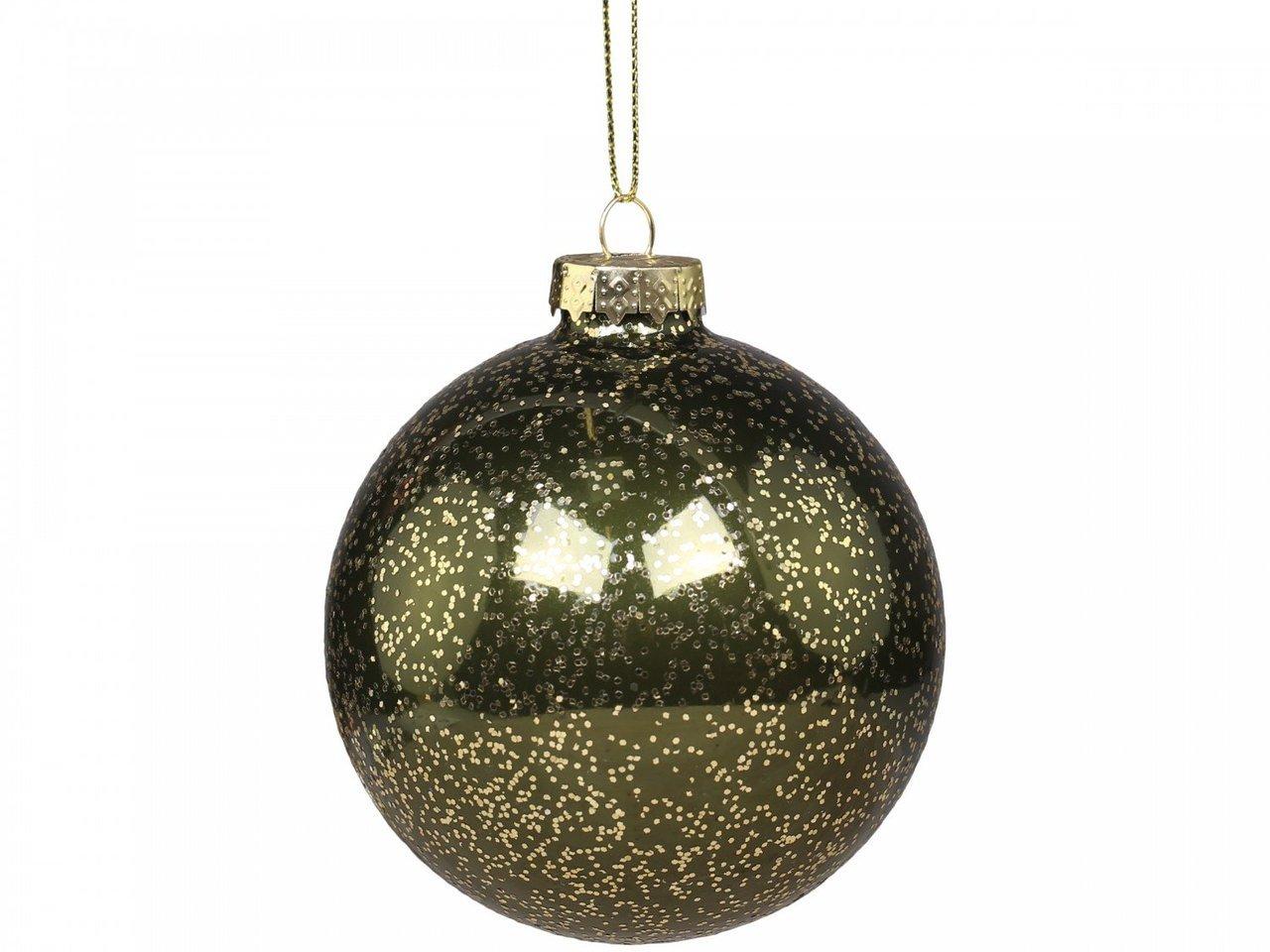 Chic Antique Weihnachtskugel mit goldenem Muster