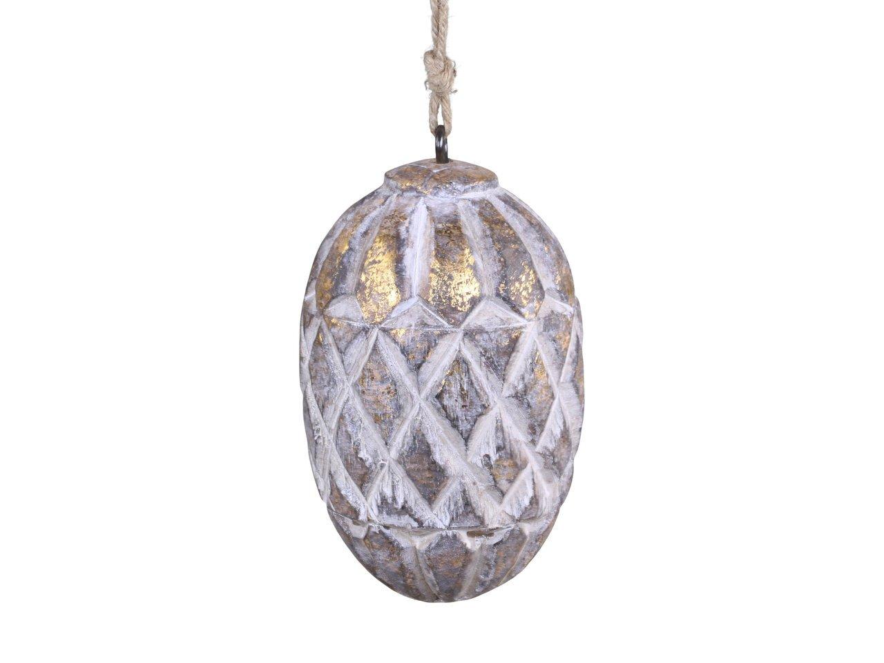 Chic Antique Zapfen Ornament mit Muster