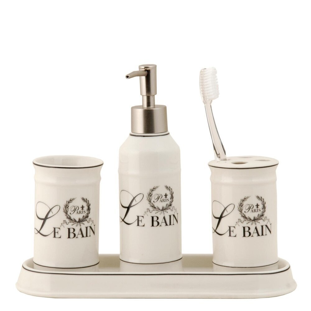 Clayre & Eef Le Bain Badezimmer 4er