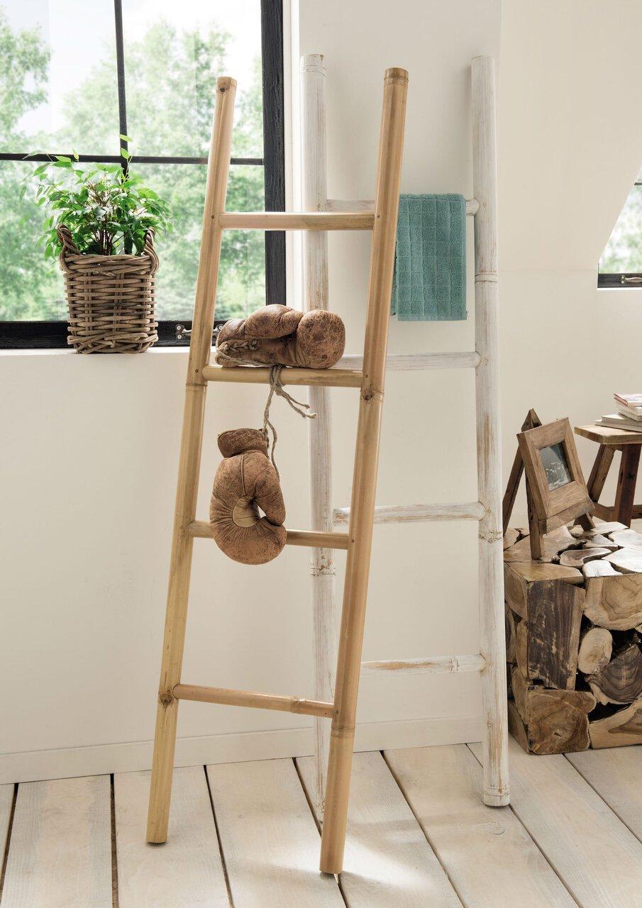 Faktorei Bambus-Dekoleiter natur