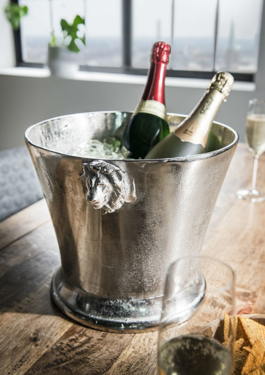 Faktorei Champagner- Weinkühler Löwe