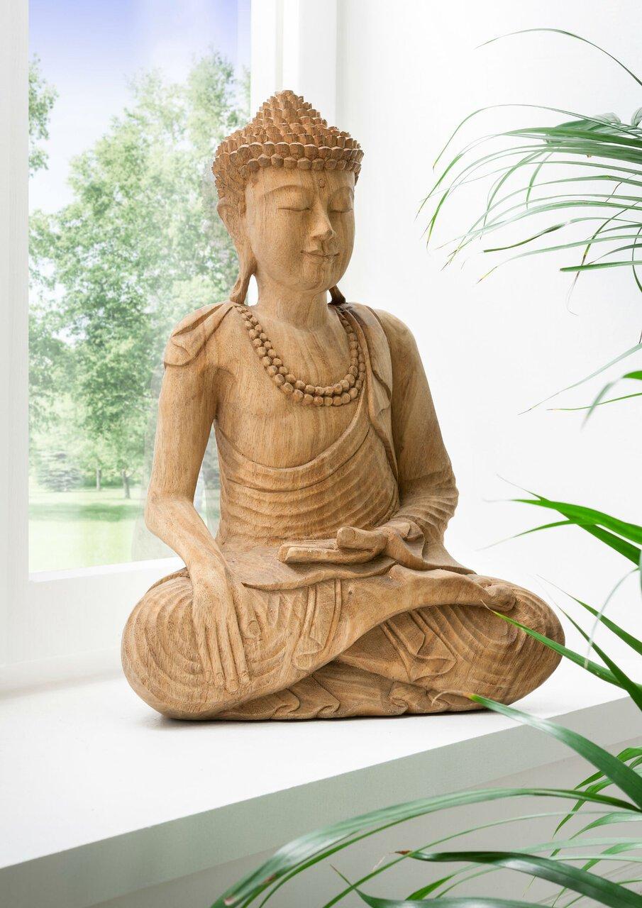 Faktorei Unikat Deko-Figur Buddha handgearbeitet
