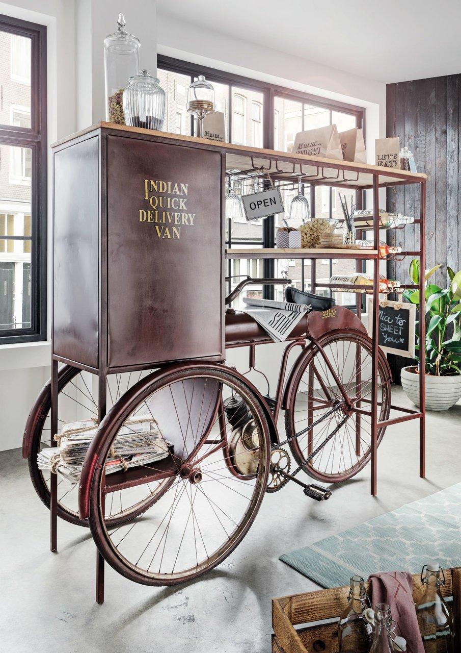 Faktorei Unikat Moto-Bike Bar auf 3 Rädern