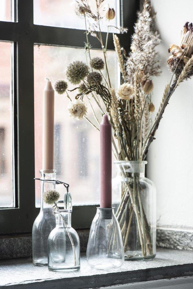 Impressionen zu Ib Laursen Flasche mit losem Kerzeneinsatz für Stabkerze, Bild 1