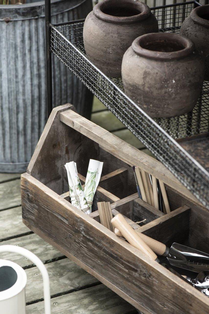 Impressionen zu Ib Laursen Garten Schaufel mit Holzgriff schmal, Bild 1