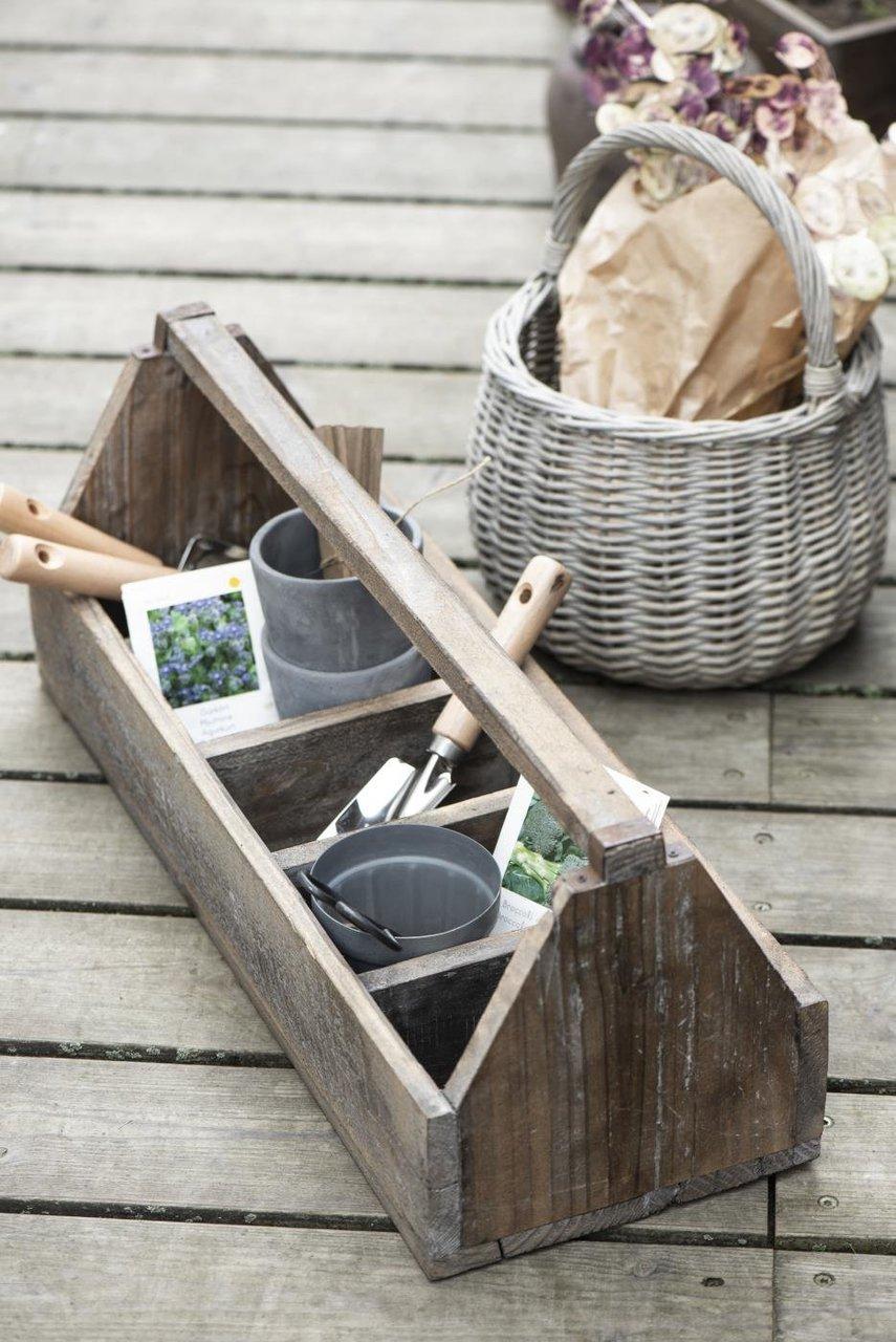Impressionen zu Ib Laursen Garten Schaufel mit Holzgriff schmal, Bild 2