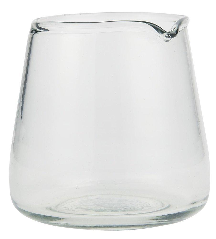Ib Laursen Glas Kanne mit Tülle mundgeblasen