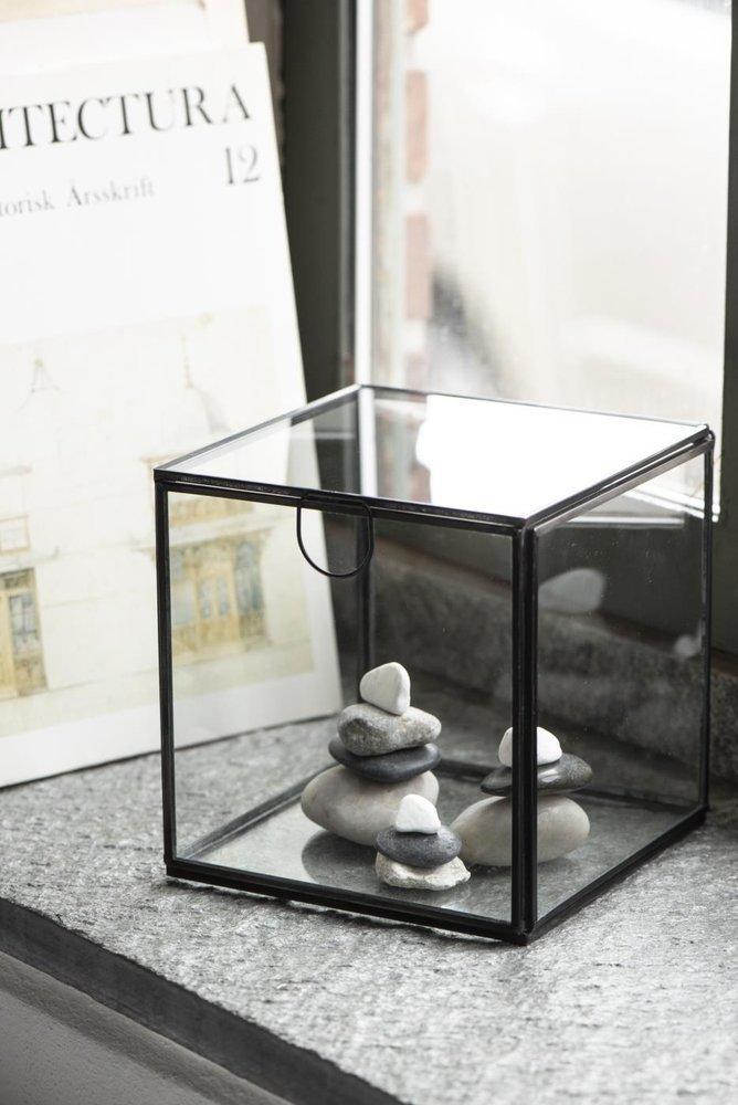 Impressionen zu Ib Laursen Glasbox Würfel mit Deckel, Bild 2