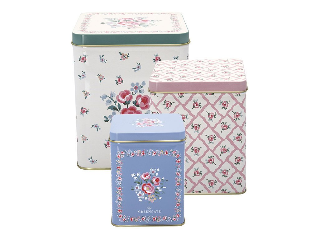 GreenGate Metallboxen 3er Set Nicoline