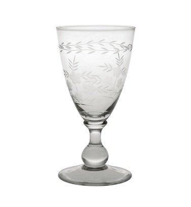 GreenGate Weinglas mit Schliff