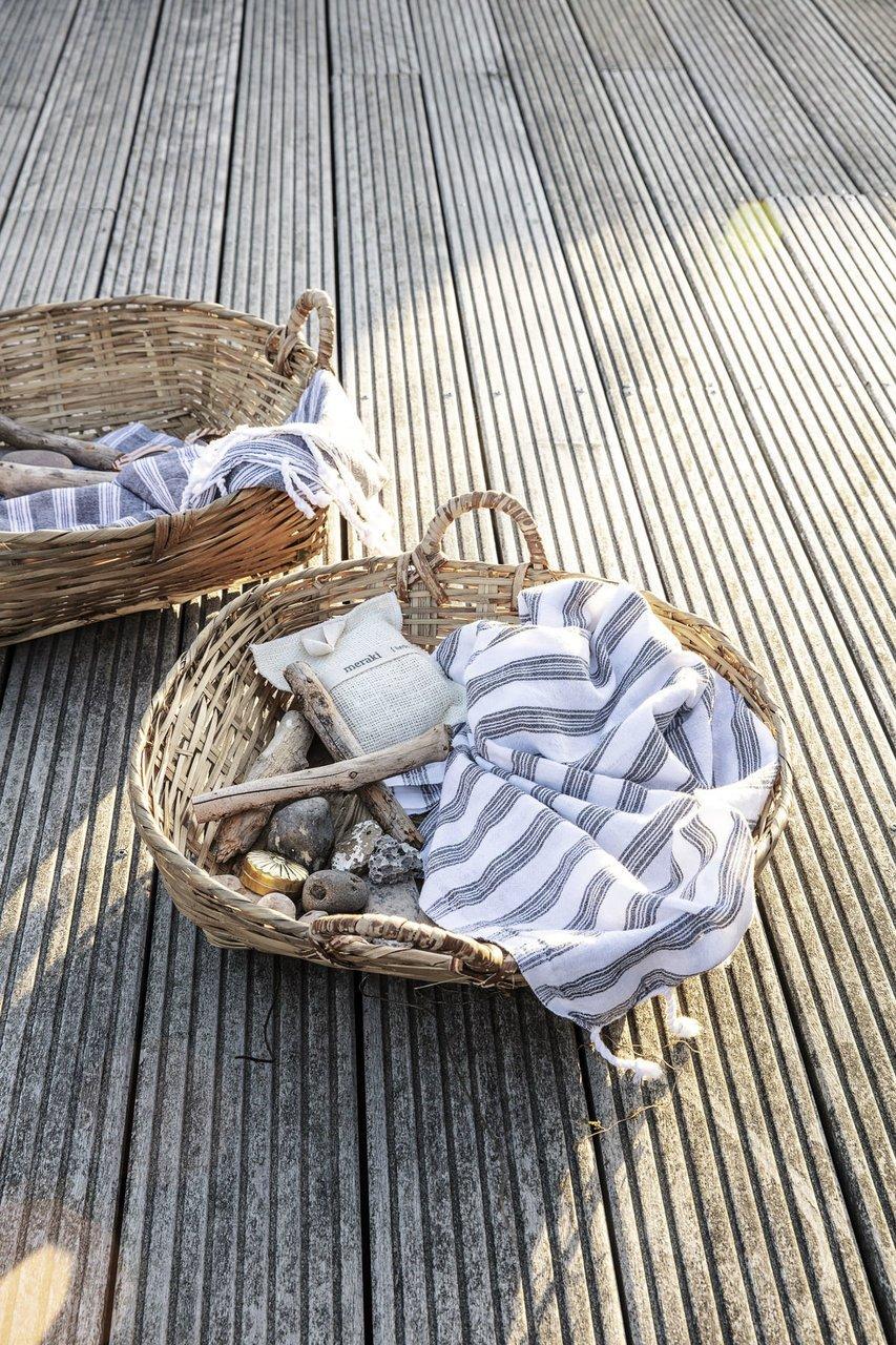 Impressionen zu Meraki Hammam-Handtuch mit Streifen, Bild 1