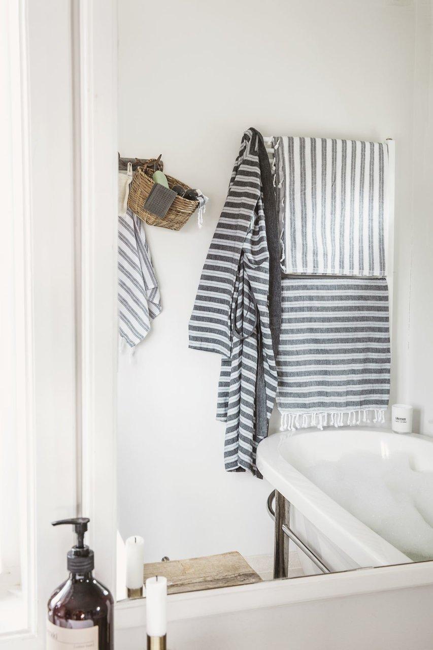 Impressionen zu Meraki Hammam-Handtuch mit Streifen, Bild 2