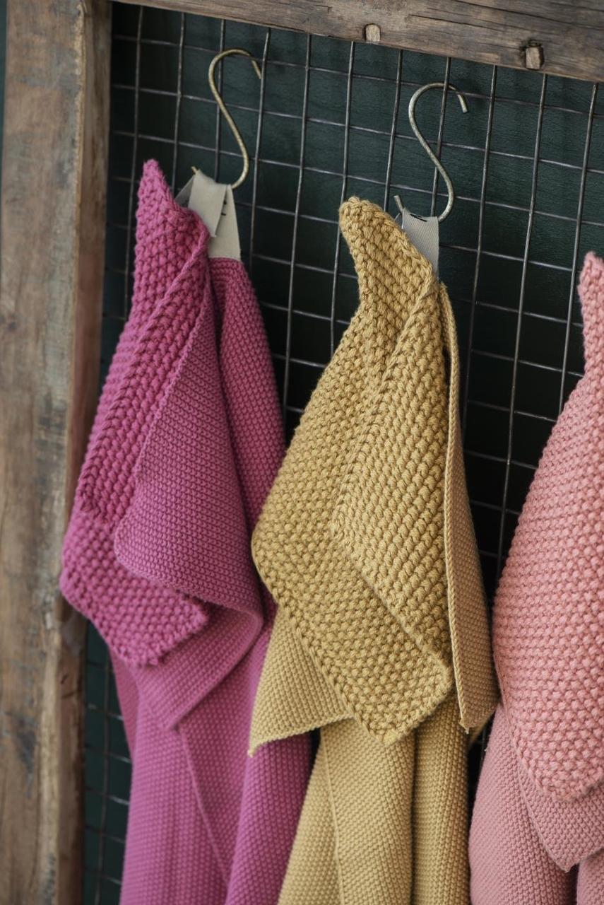 Impressionen zu Ib Laursen Handtuch Mynte gestrickt, Bild 14