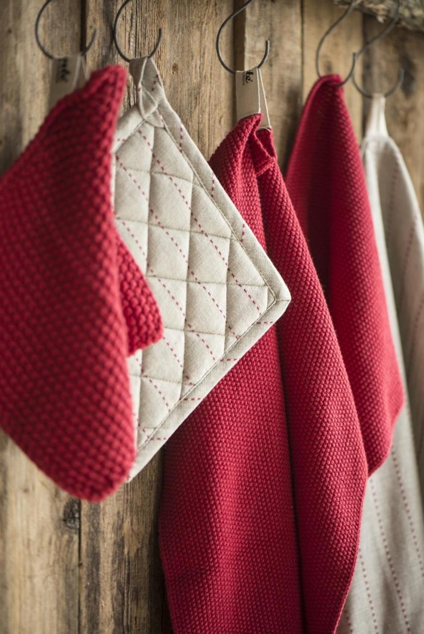 Impressionen zu Ib Laursen Handtuch Mynte gestrickt, Bild 15