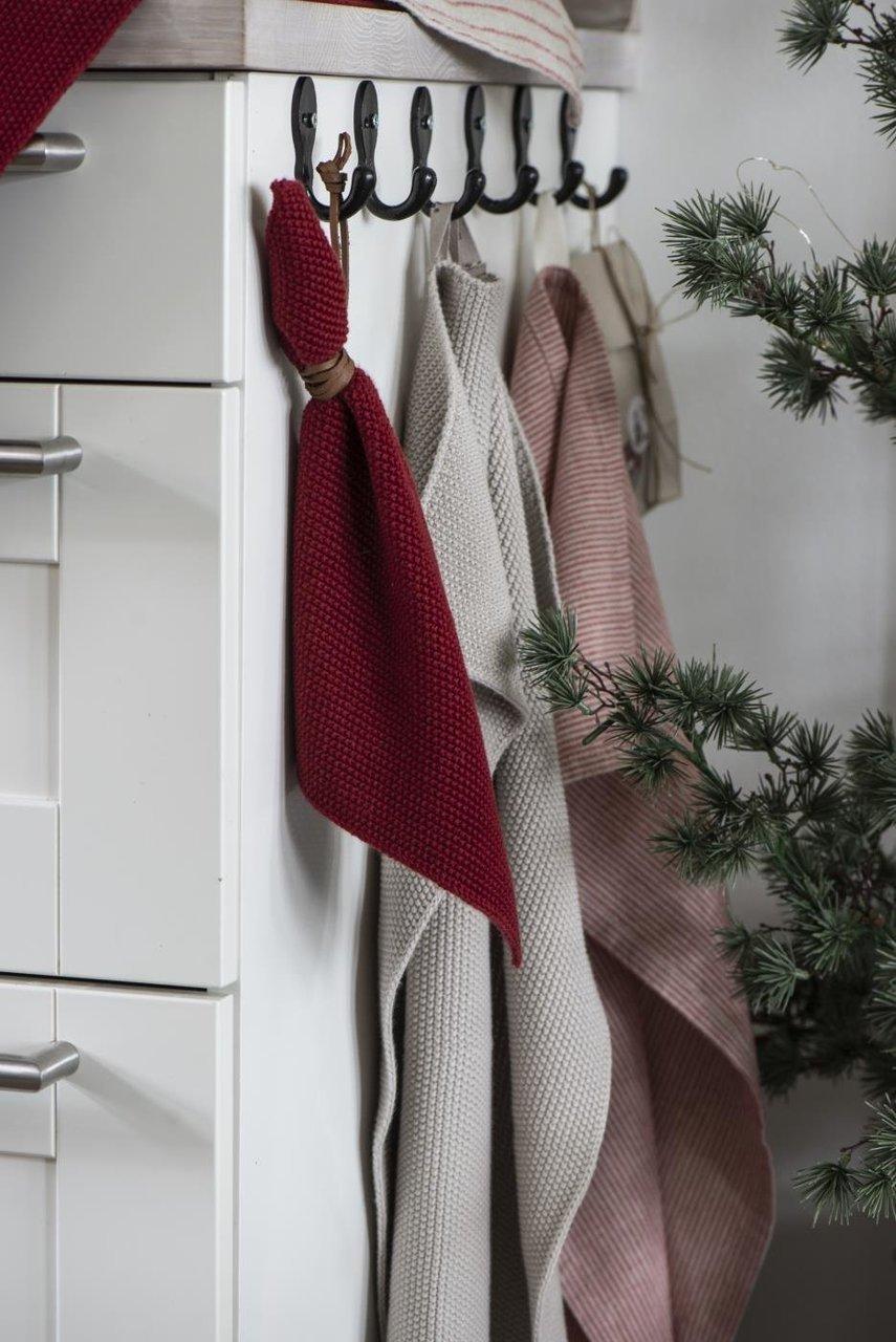 Impressionen zu Ib Laursen Handtuch Mynte gestrickt, Bild 4