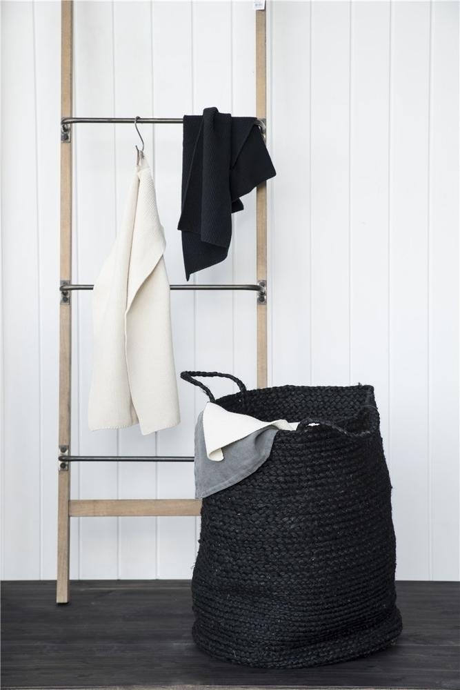Impressionen zu Ib Laursen Handtuch Mynte gestrickt, Bild 1
