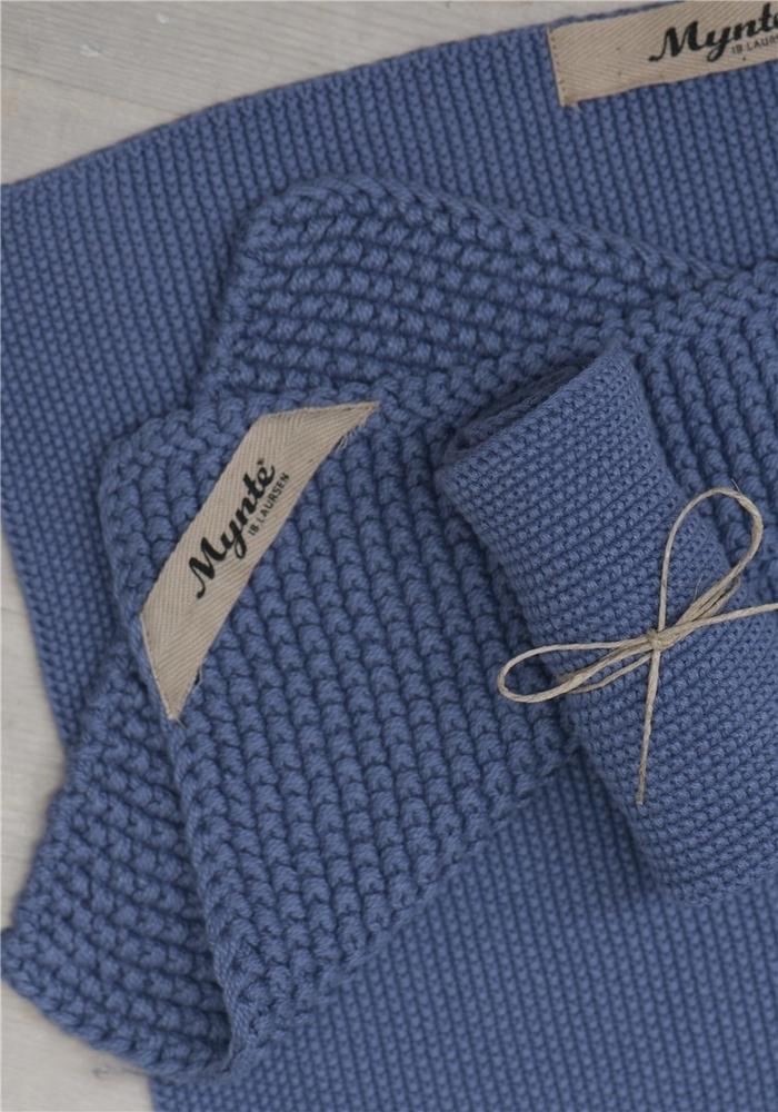 Impressionen zu Ib Laursen Handtuch Mynte gestrickt, Bild 2