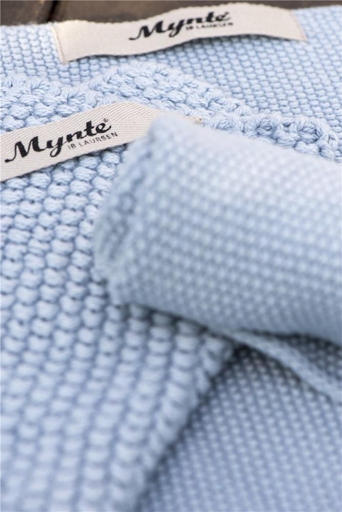 Impressionen zu Ib Laursen Handtuch Mynte gestrickt, Bild 6