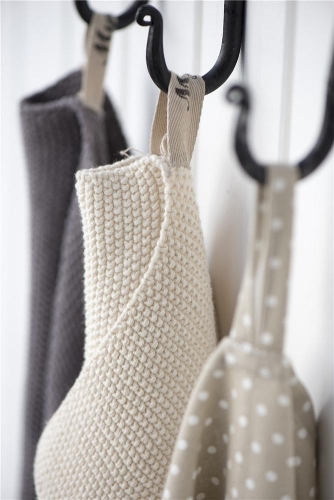 Impressionen zu Ib Laursen Handtuch Mynte gestrickt, Bild 8