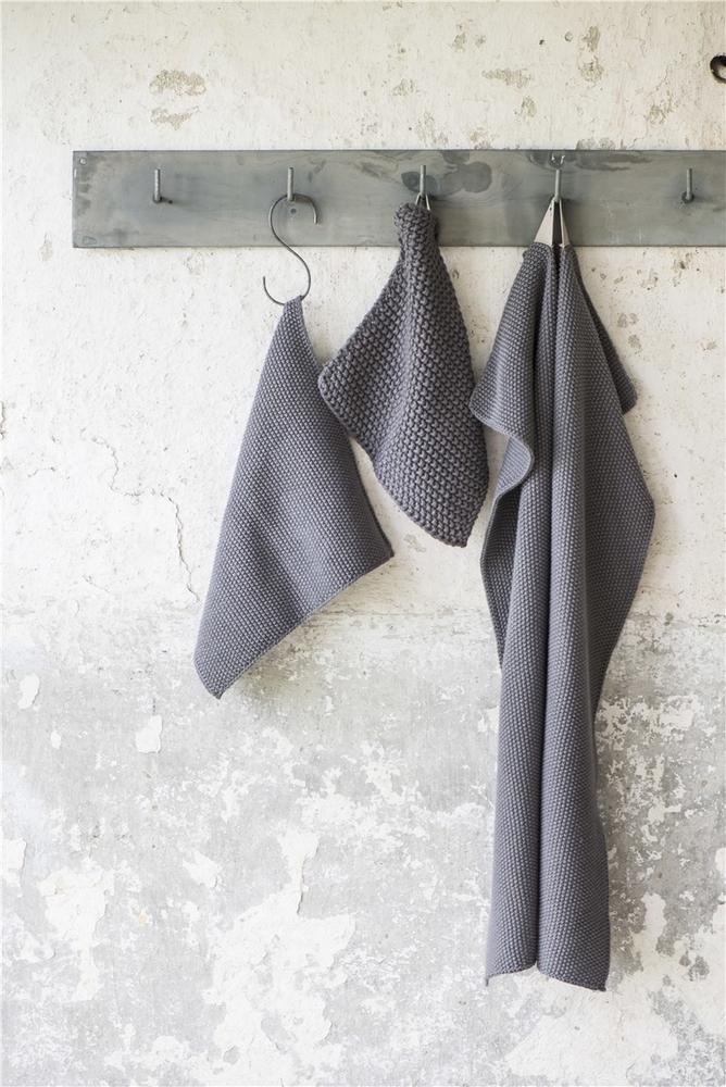 Impressionen zu Ib Laursen Handtuch Mynte gestrickt, Bild 9