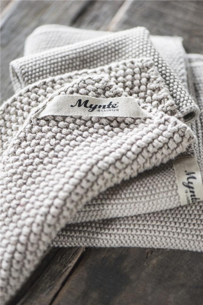 Impressionen zu Ib Laursen Handtuch Mynte gestrickt, Bild 12