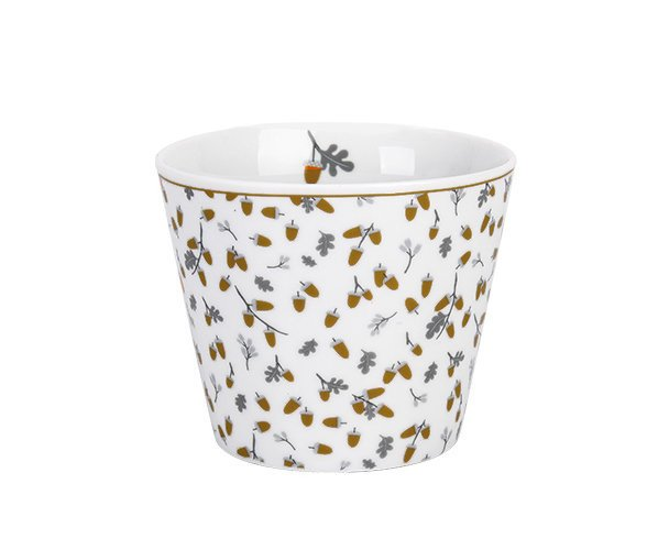 Krasilnikoff Happy Cup Becher Tumbler Golden Acorns
