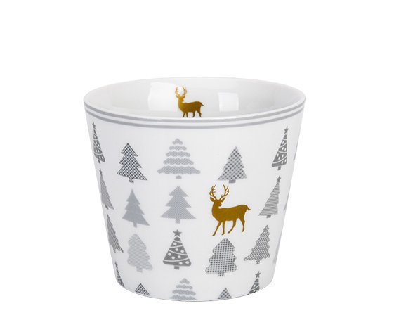 Krasilnikoff Happy Cup Tumbler Becher Christmas Trees
