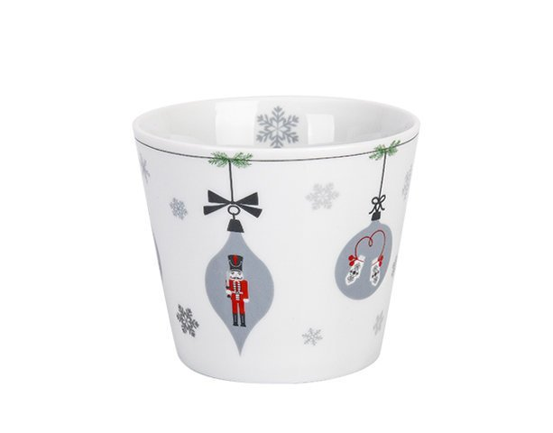 Krasilnikoff Happy Cup Tumbler Becher, X-Mas Ornaments 1