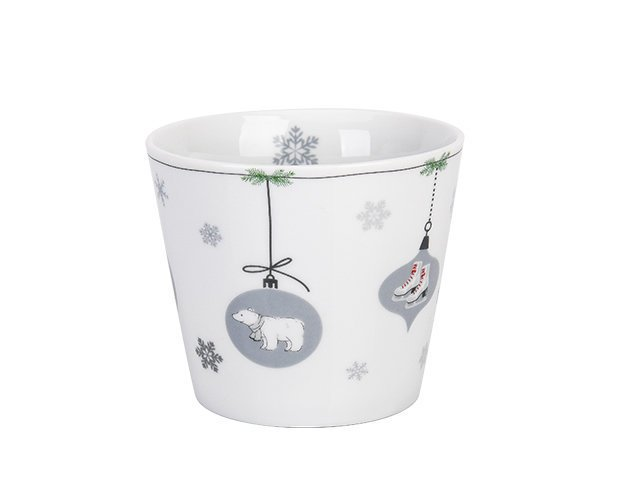 Krasilnikoff Happy Cup Tumbler Becher X-Mas Ornaments 2