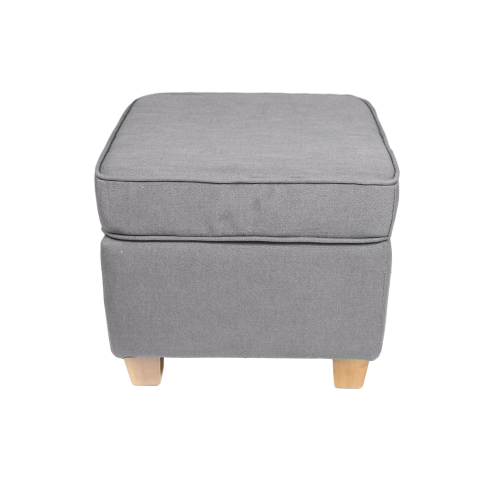 HSM Collection Hocker für Ohrensessel Anton