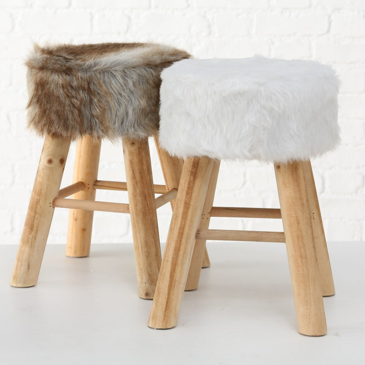 Boltze Hocker Woody 2er