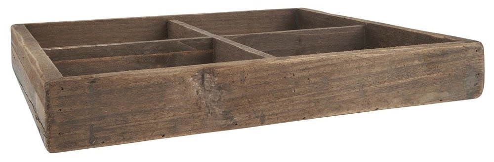 Ib Laursen Holz Kiste mit 4 Fächern