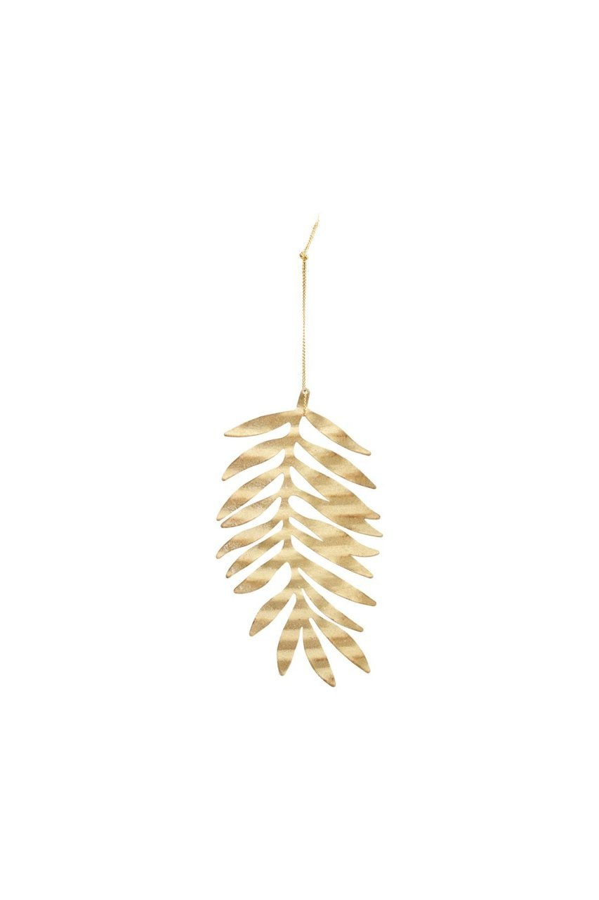 House Doctor Ornament aus Metall Leaf