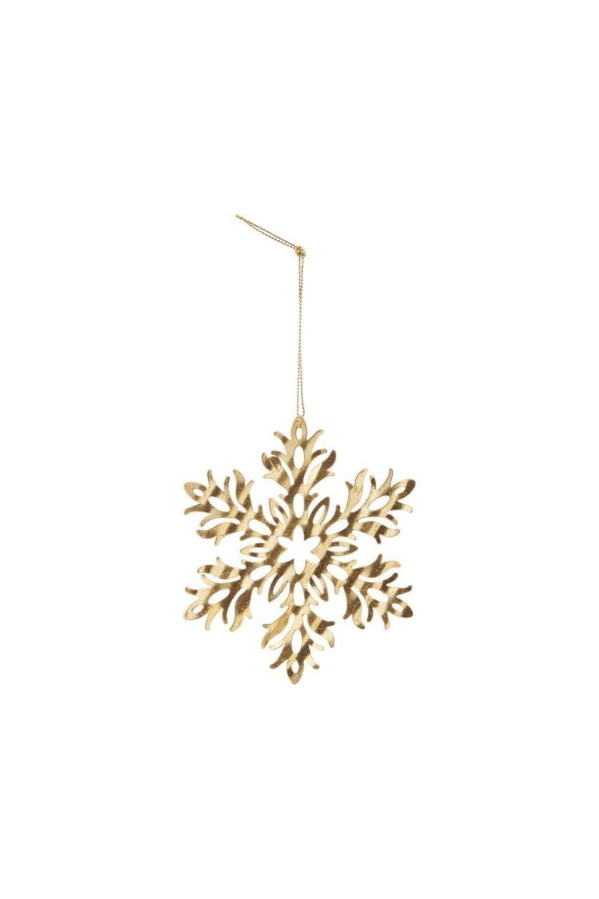 House Doctor Ornament aus Metall Snow Flower