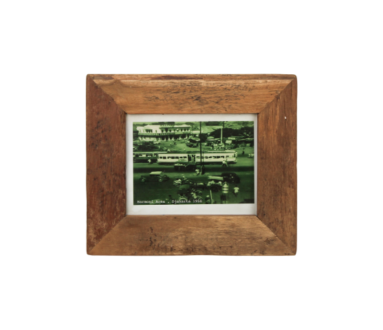 HSM Collection Bilderrahmen Antik Holz Teak