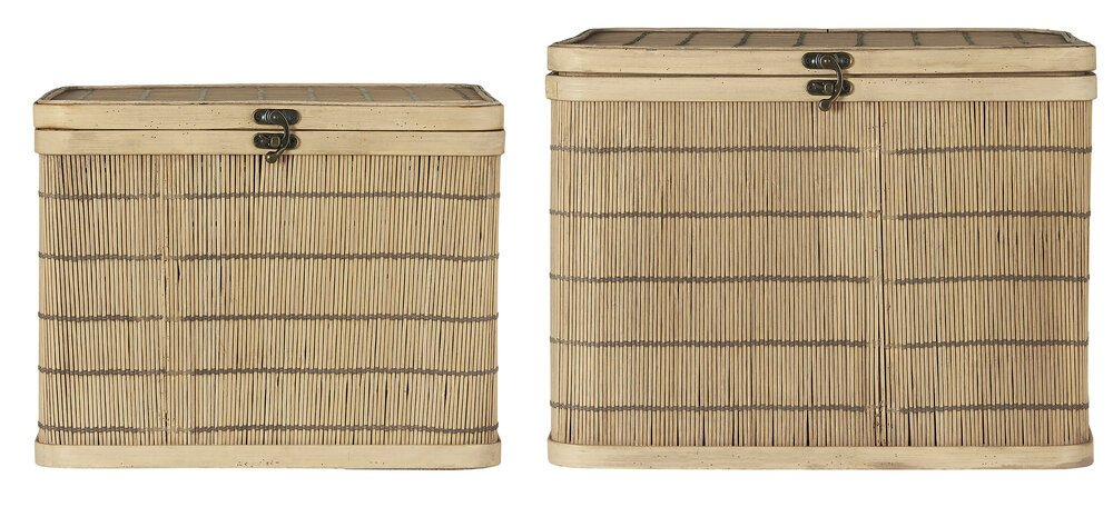 Ib Laursen 2er Set Schachtel Bambus groß